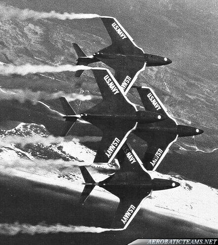 Blue Angels F9F-8 Cougar