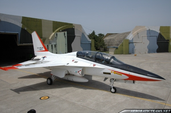 Black Eagles T-50 old livery