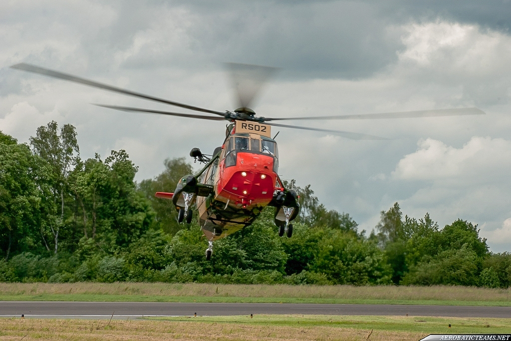 Belgian Air Force SH-3 Sea King
