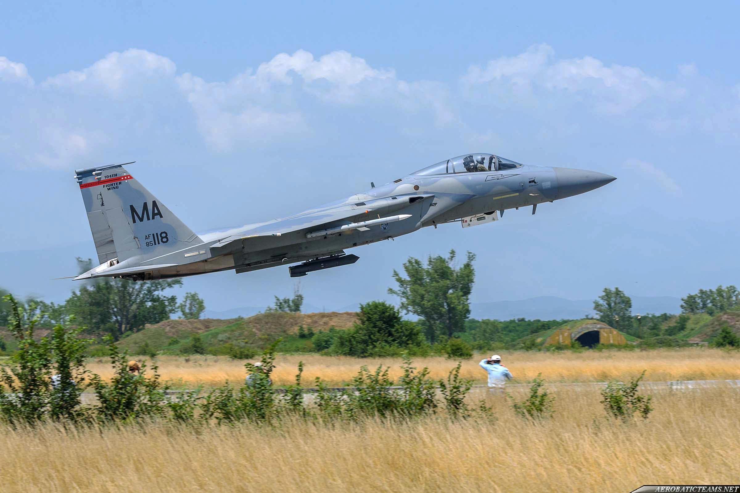 US Air Force F-15C