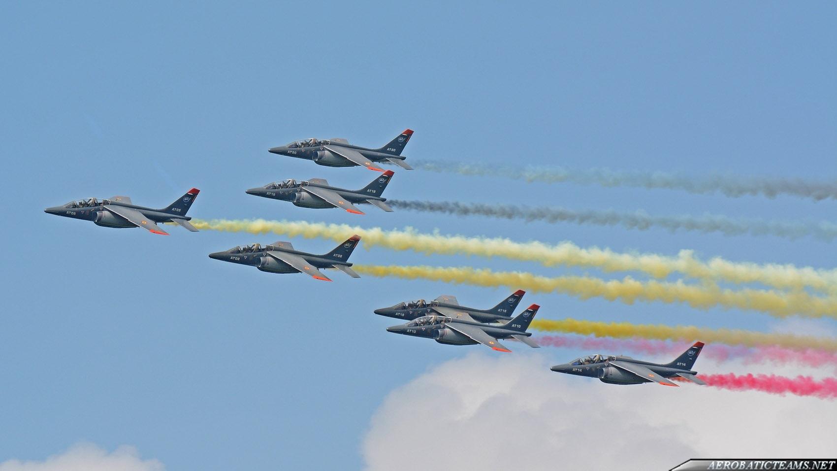 BAF Alpha Jet formation