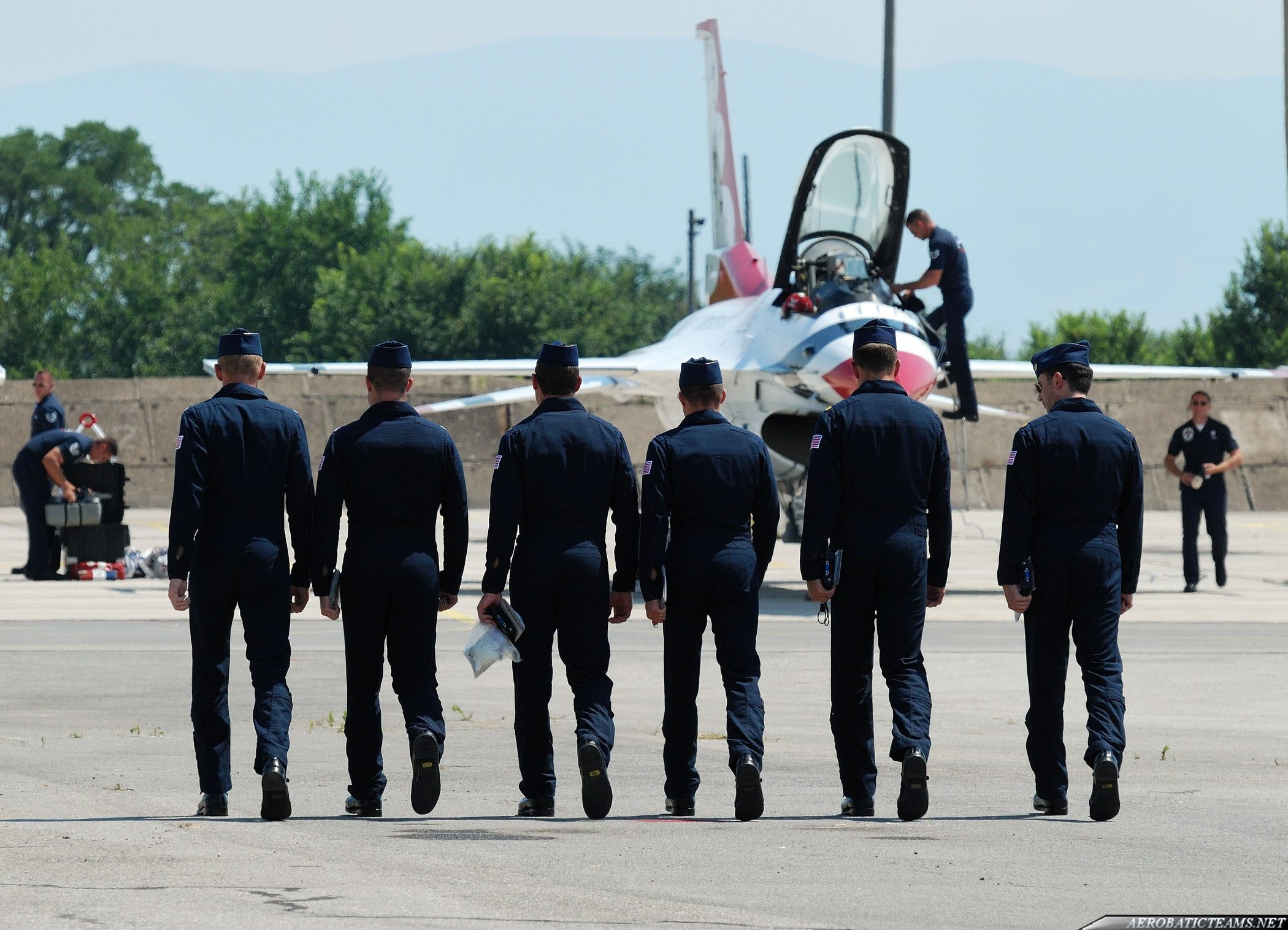 Thunderbirds pilots, June 24