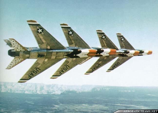 Thunderbirds F-100C Super Sabre