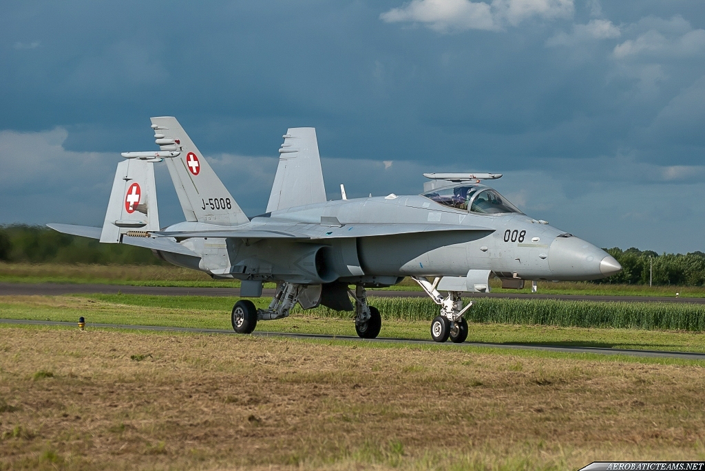 Swiss Air Force F-18