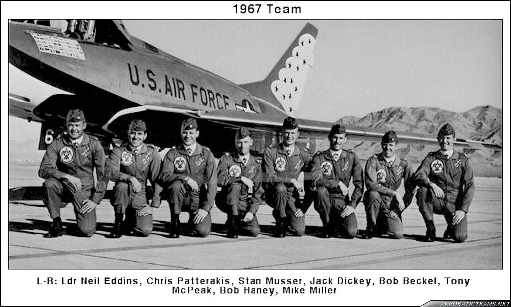 1967 Thunderbirds Pilots