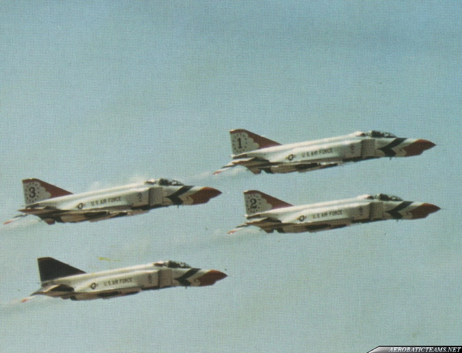 Thunderbirds F-4E Phantom II