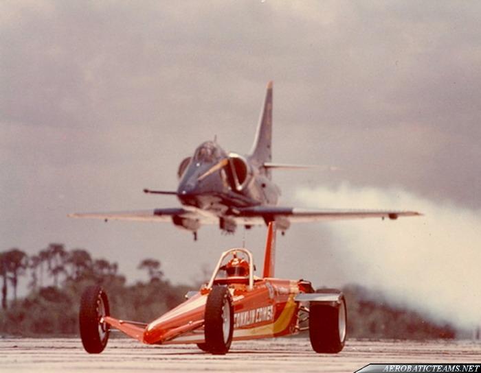 Blue Angels A-4F Skyhawk