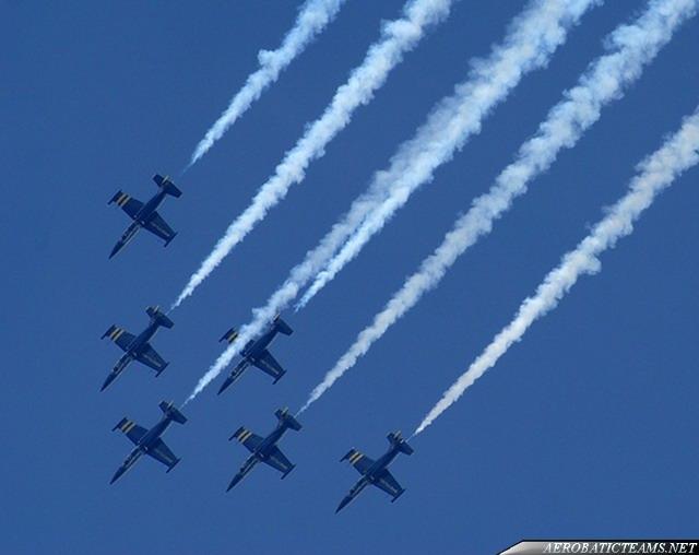 Breitling Jet Team L-39C Albatross. Second paint scheme.