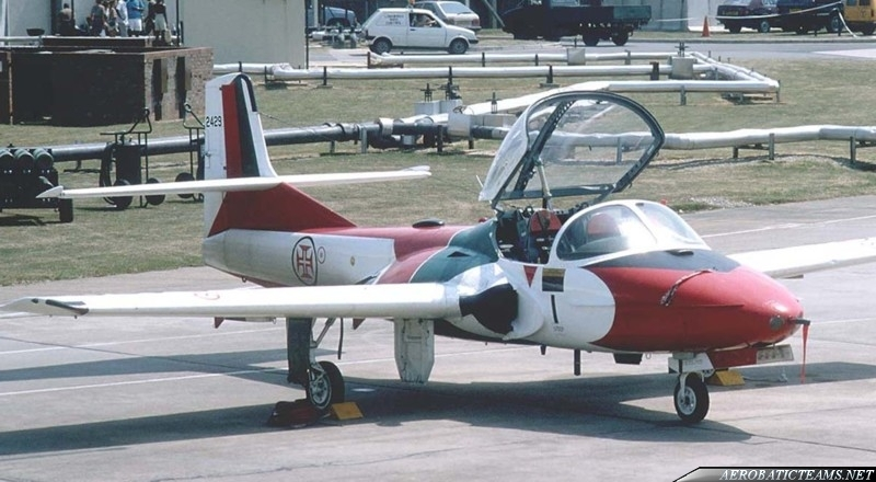 Asas de Portugal Cessna T-37C