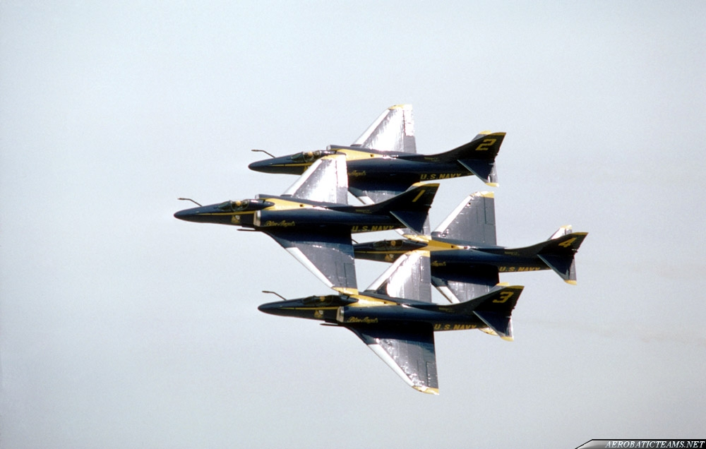 Blue Angels A-4F Skyhawk