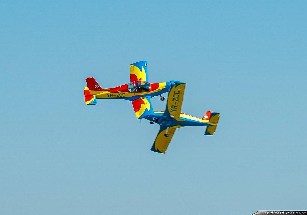 Romanian Aeroclub Zlin 142