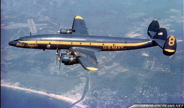 Lockheed C-121 Constellation from 1965 to 1970