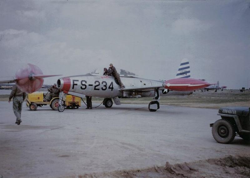 Skyblazers F-84E Thunderjet