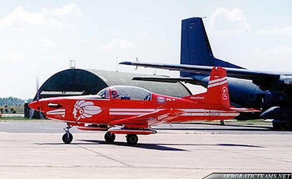 Apache Aviation Team PC-7