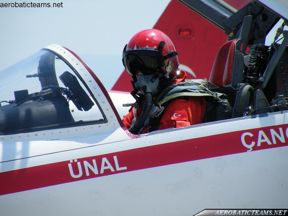 Turkish Stars flight leader