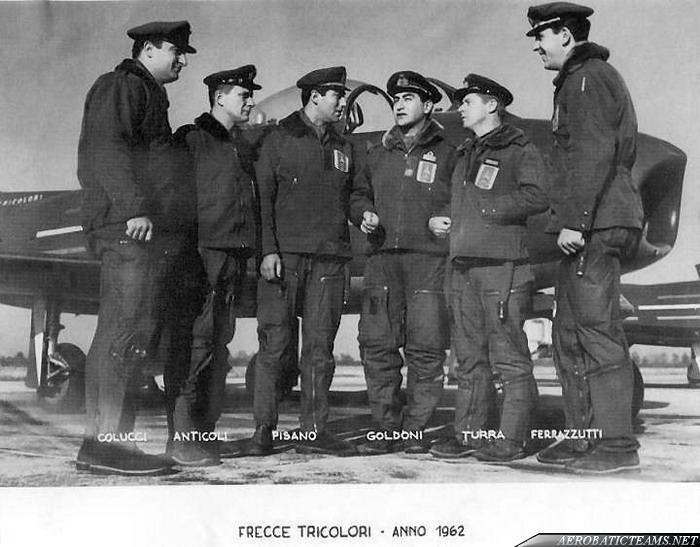 Frecce Tricolori pilots