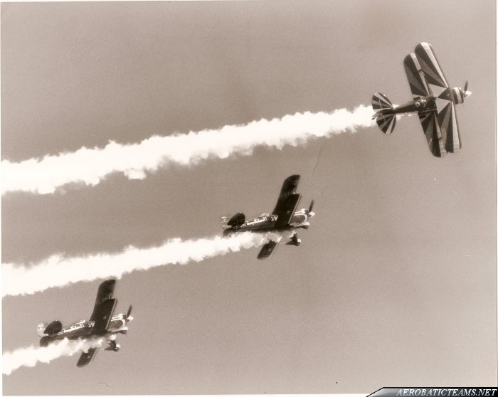 Royal Jordanian Falcons Pitts Special-S2A, from 1976 to 1992