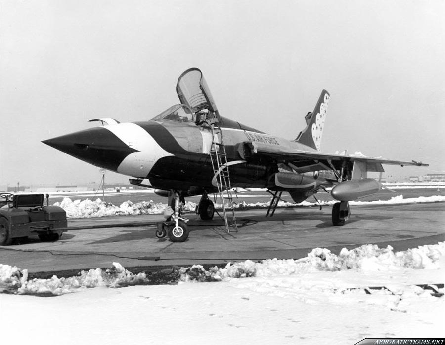 Thunderbirds F-105B Thunderchief