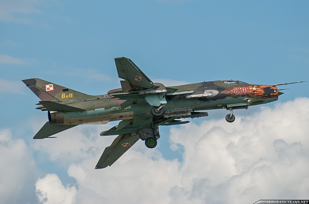 Polish Air Force Su-22s