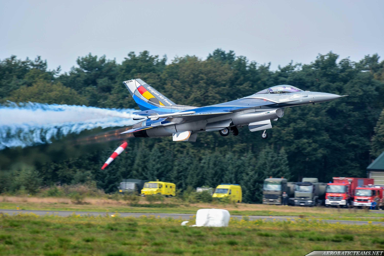 BAF F-16 Demo Team
