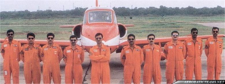Surya Kiran pilots