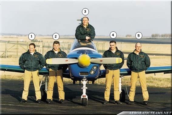 Cartouche Dore TB 30 Epsilon pilots