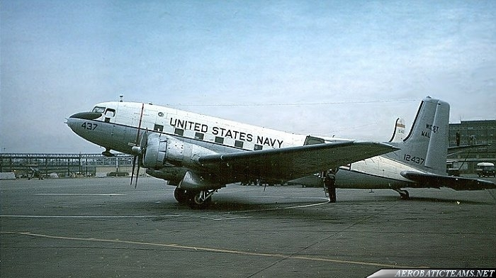 Douglas R4D-8 Super Skytrooper from 1955 to 1958