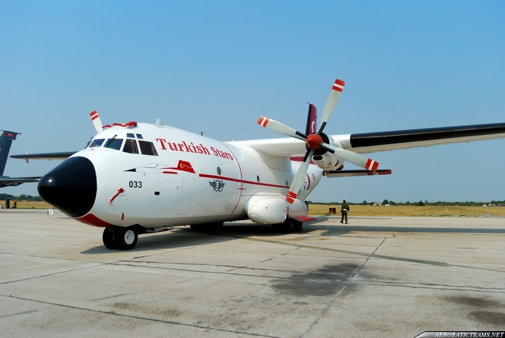 Turkish Stars C-160 Transall