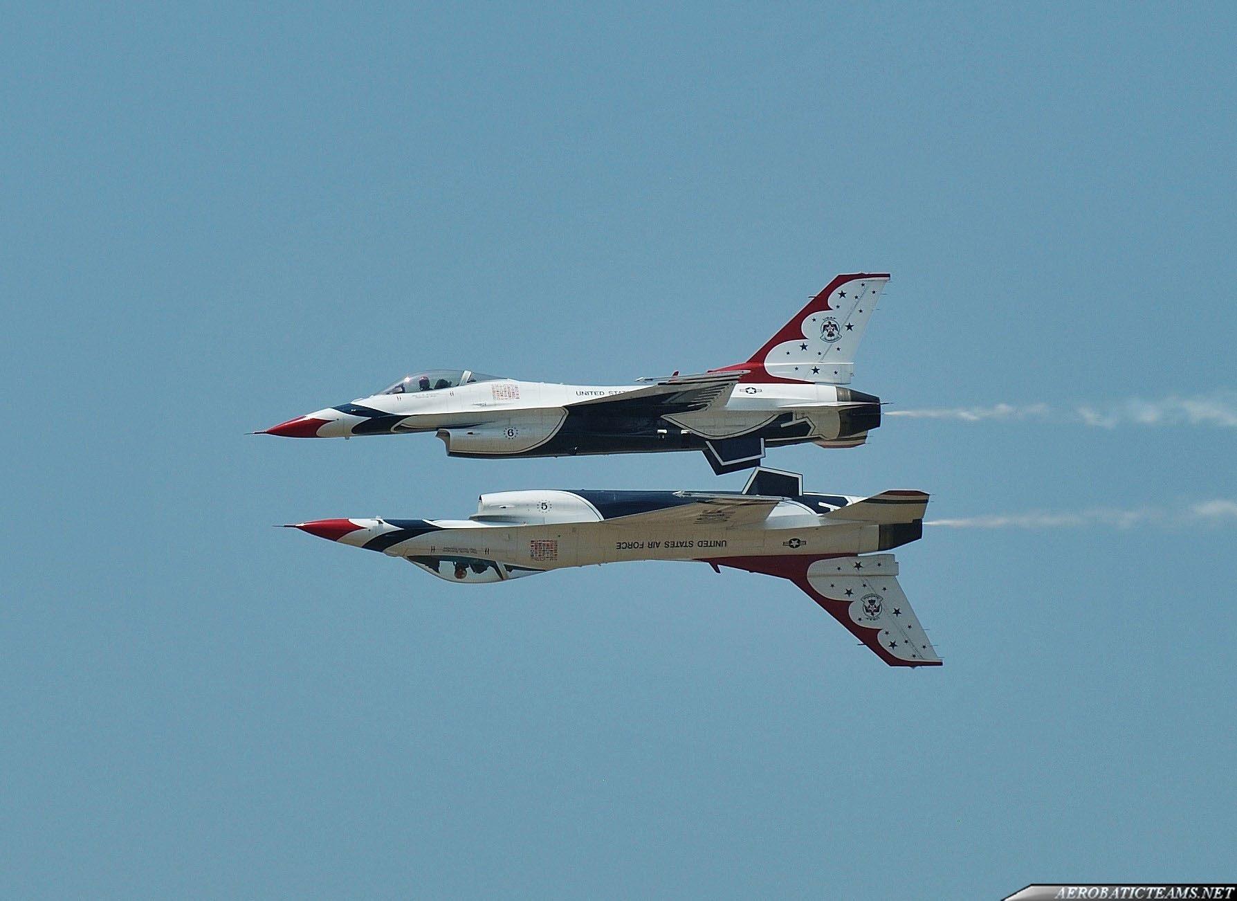 Thunderbirds practice flight, June 24