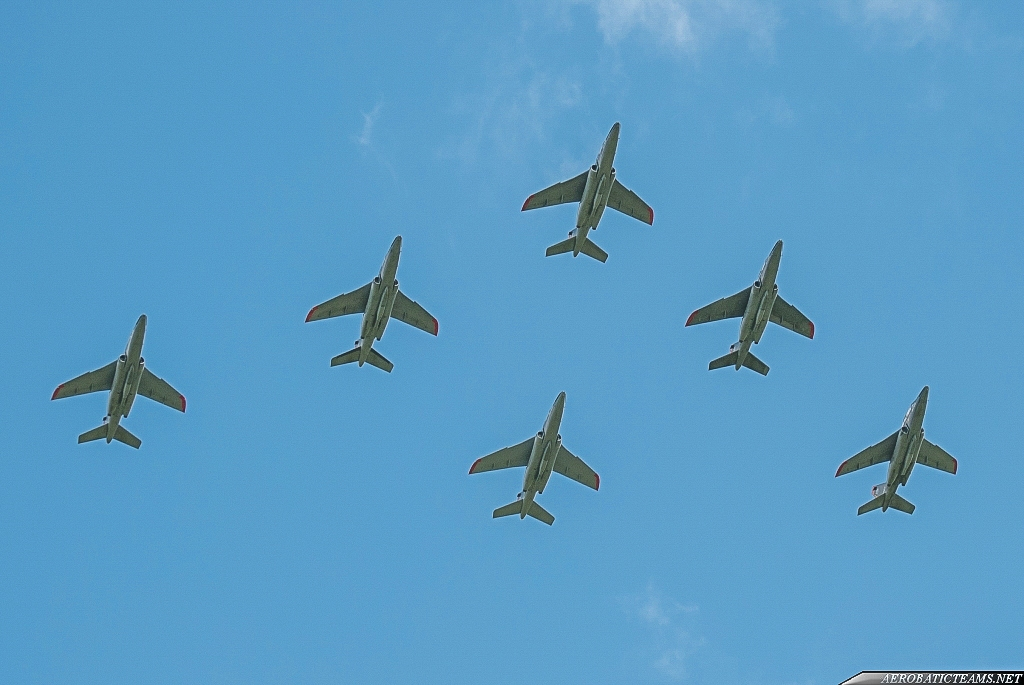 Belgian Air Force Smoke Formation