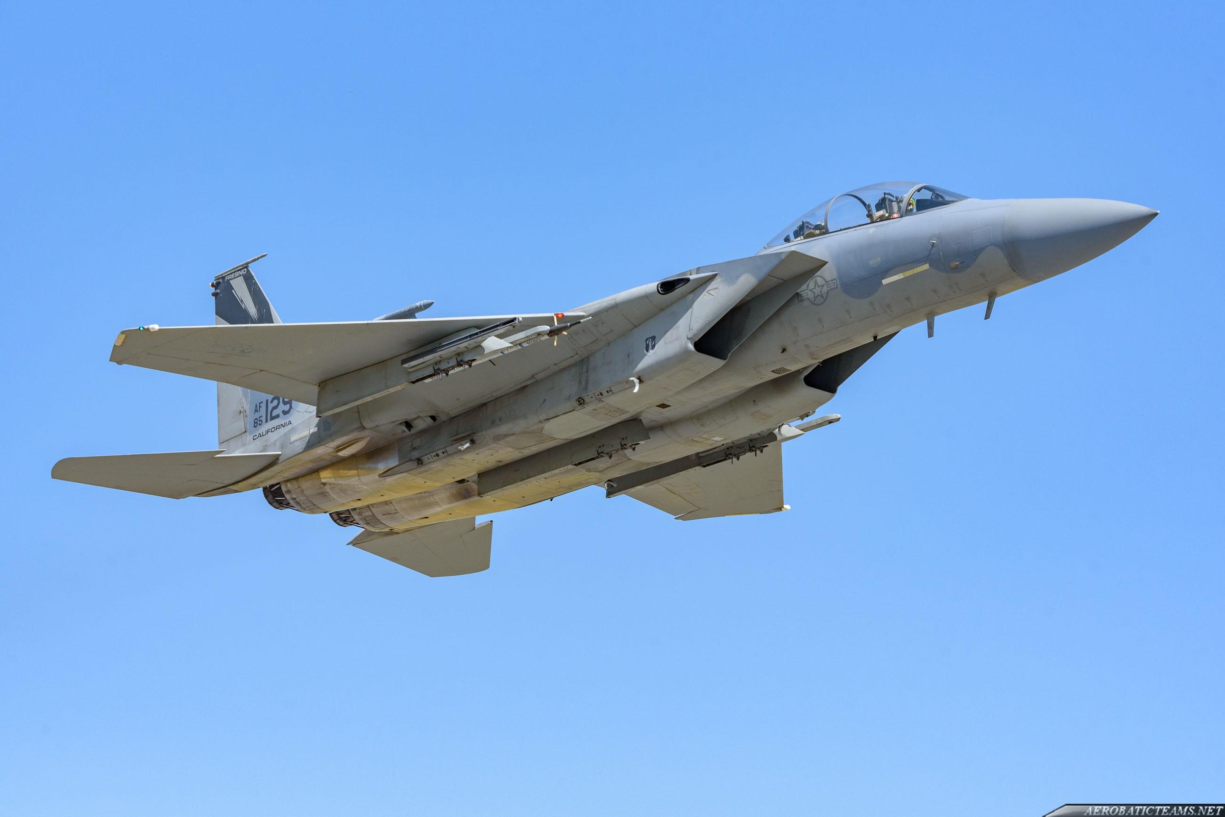 US Air Force F-15D