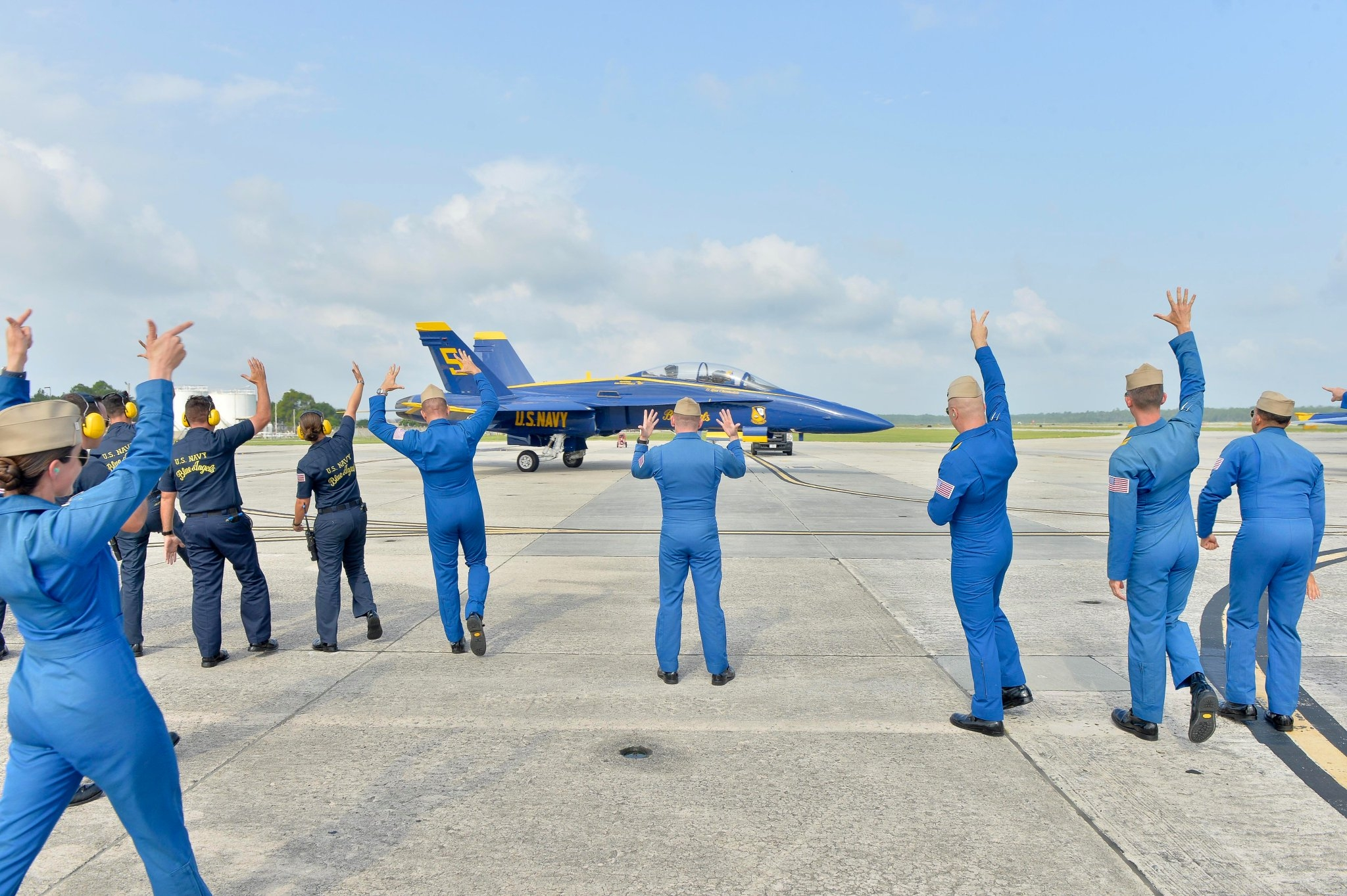 Blue Angels practice, Jun 16. Photo US NAVY