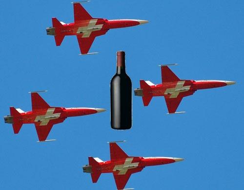 Patrouille Suisse wine scandal