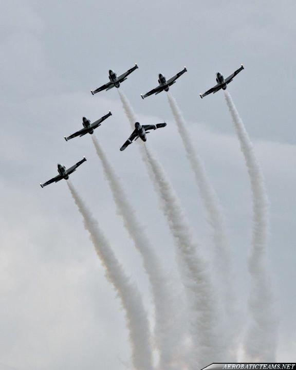 Heavy Metal Jet Team with MiG-17