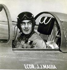 Lt. Cmdr. Johnny Magda