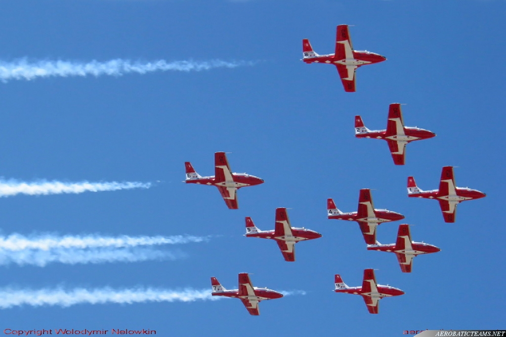 Snowbirds CT-114 Tutor