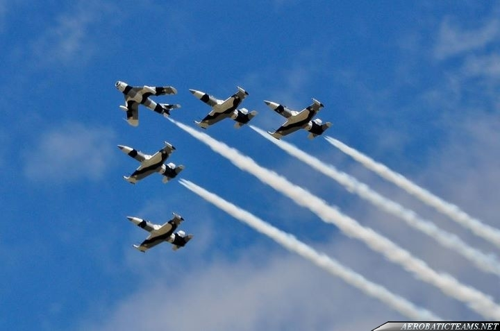 Heavy Metal Jet Team now is called Black Diamond Jet Team