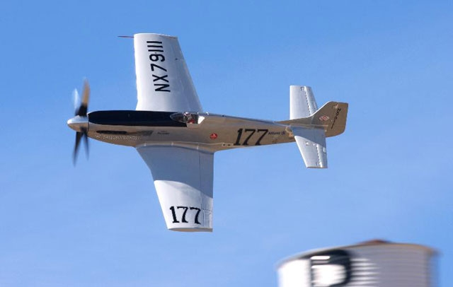 P-51 Galloping Ghost during Reno Air Races