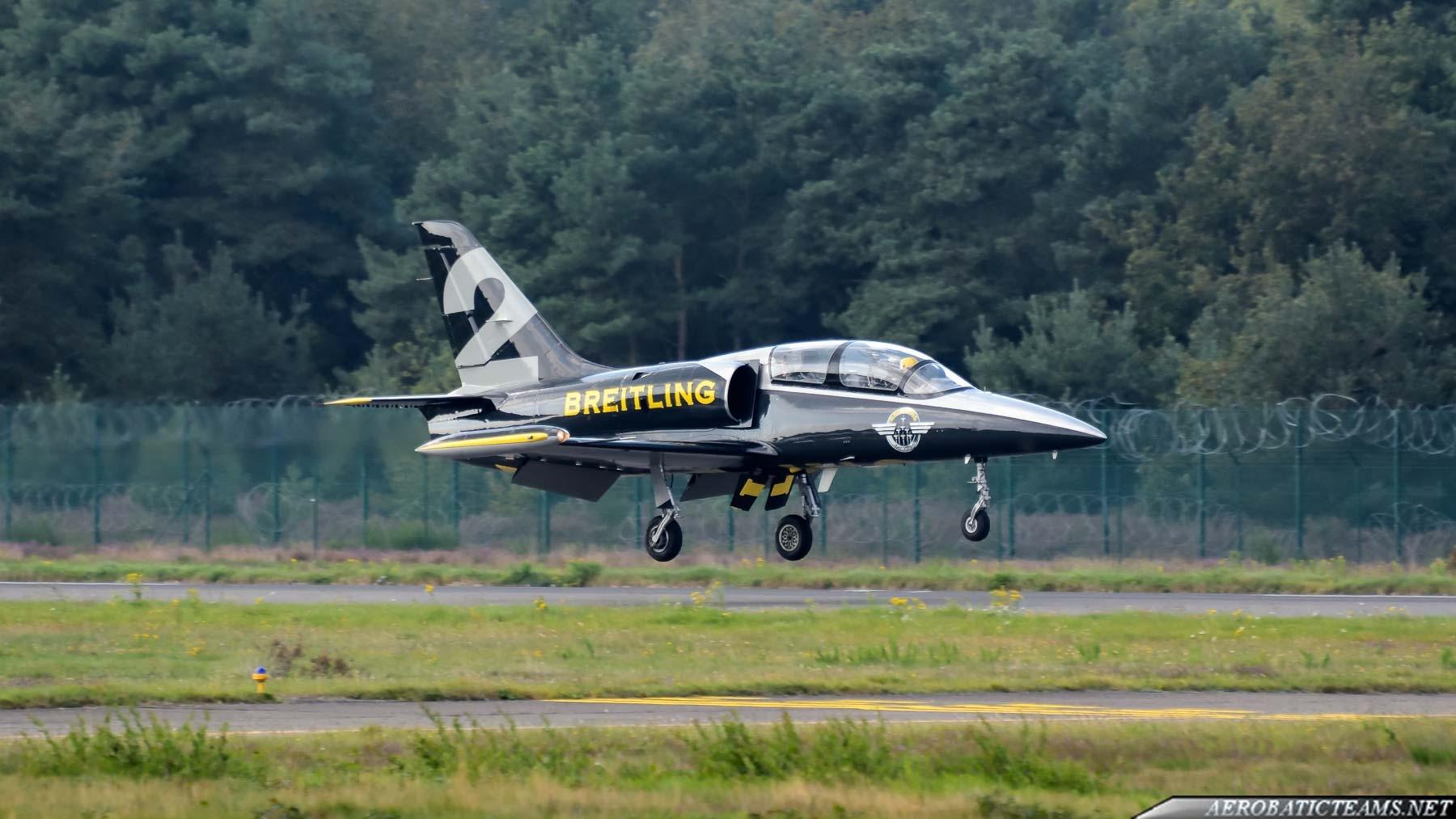 Breitling Jet Team #2 aircraft