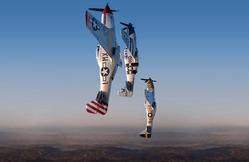 The Horsemen P-51 team