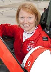 Flight Lieutenant Kirsty Stewart