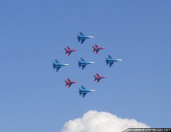Russian Knights and Swifts