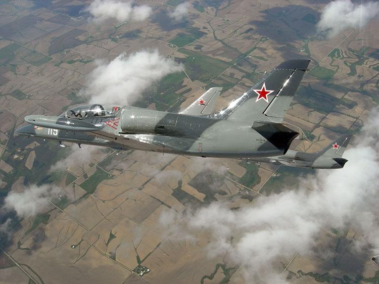 Hoppers aerobatic team L-39