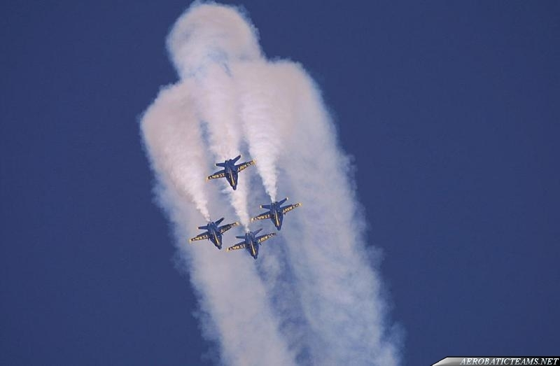 Blue Angels winter training practice