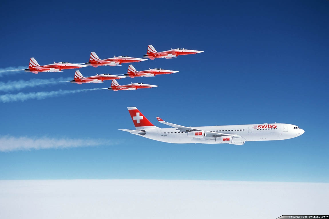 In 1999, Patrouille Suisse does not take displays, because of War in ...