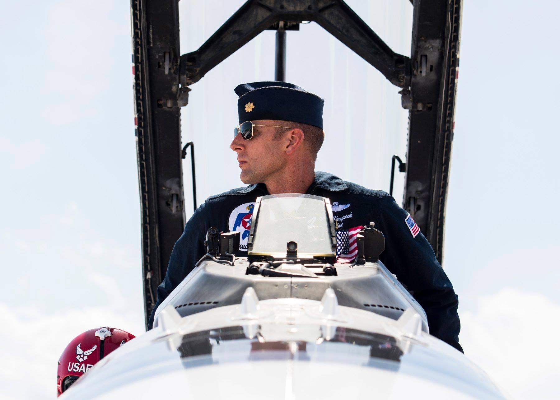 Maj. Nick Khan Krajicek