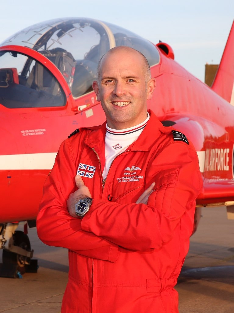 Squadron Leader Mike Ling