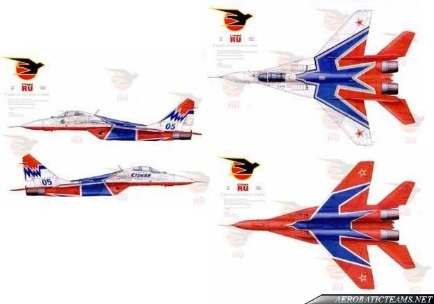 Swifts MiG-29 present paint scheme