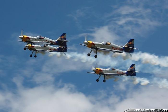 Flying Bulls Aerobatic Team Zlin 50LX