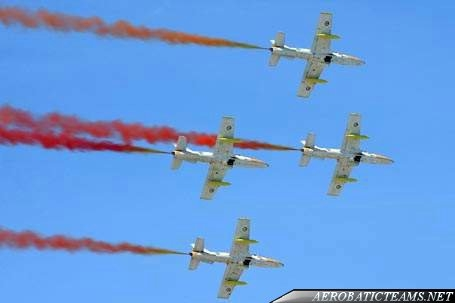 UAE first aerobatic team Knights